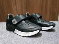 Bullboxer unisex leather black trainers shoes UK 6.5 EUR: 39.5 RRP: £75