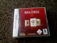 mahjongs solitair game for ds