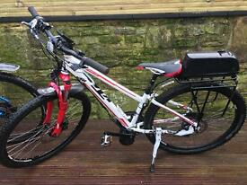 HIS & HERS BAFANG 750 watt Electric BIKES Will split to sell separately