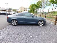 "07 Audi A5 Coupe 3.0Tdi Manual 112k Miles *FULL 12 MTHS MOT * 20"" Alloys 300+ BHP"