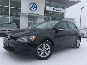 2016 Volkswagen Golf TL/BACK-UP CAM/HEATED SEATS/1 OWNER!