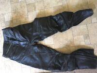 Ladies biker trousers