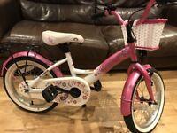 """Girls BIKESTAR Child's bike 16"""" VGC"""