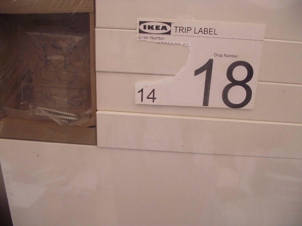 Ikea Lack 55cm side table in white - still in packaging