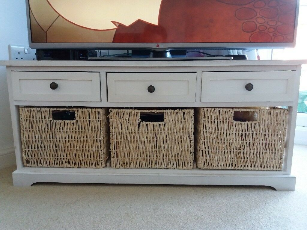 Stand With Storage Drawers Baskets