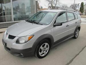 2004 Pontiac VIBE HATCHBACK automatic only 136,000 k  $5995