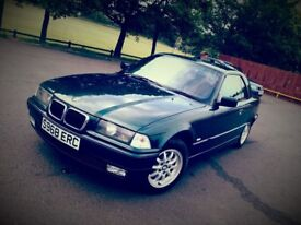 BMW 328i E36 Convertible Fern Green