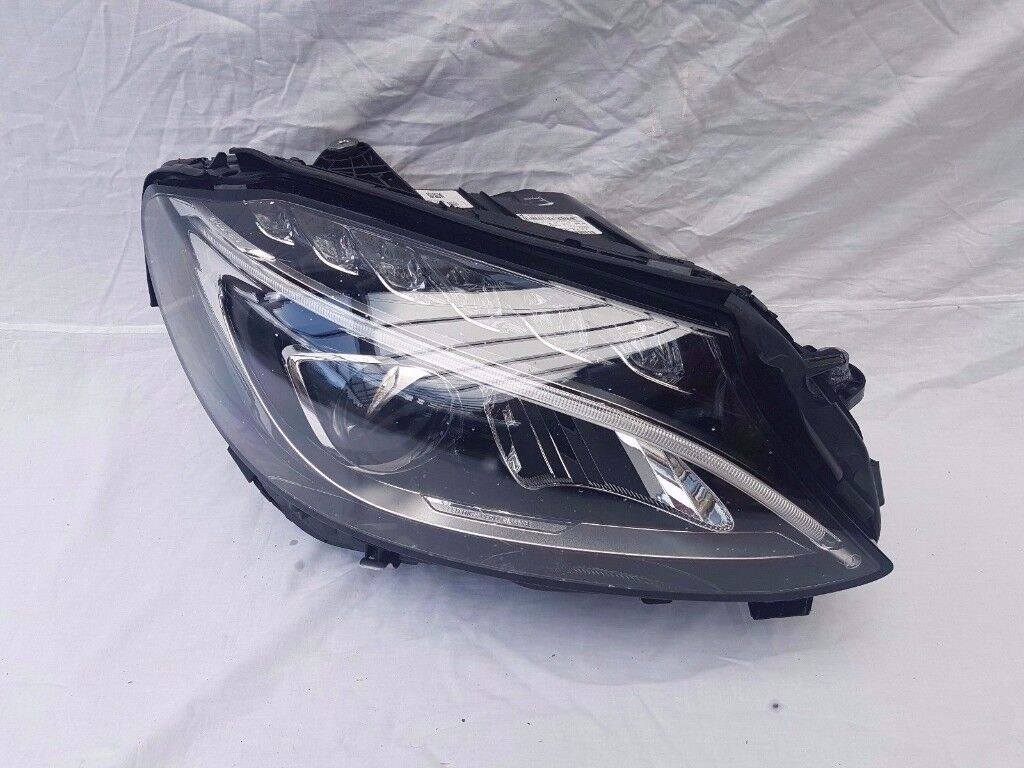 2016 MERCEDES C CLASS W205 C63 LED HIGH PERF DRIVER HEADLIGHT - COMPLETE
