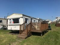 CHEAP STATIC CARAVAN FOR SALE IN AYRSHIRE, SCOTLAND NEAR GLASGOW , 11 MONTH PARK, LOW SITE FEES
