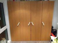 IKEA pax wardrobe in very good condition