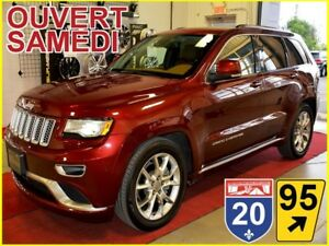 2016 Jeep Grand Cherokee SUMMIT * 4X4 * HEMI * DVD * TOIT