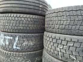 Part worn tyres commercial tyres for export 275/70 R22.5