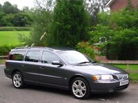 2005 (55) VOLVO V70 2.5 D5 SE 185 AUTO **1 FORMER KEEPER - FULL SERVICE HISTORY - IMMACULATE**