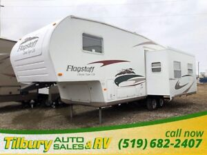2008 Forest River Flagstaff 8528 RLSS Fifth-Wheel