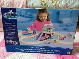 Universe of Imagination Fashion Railway Set (boxed)