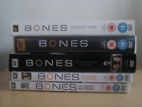 Bones TV series 1 and 2, 4,5 and 6