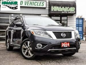 2014 Nissan Pathfinder Platinum   Fully Loaded