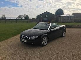 Audi A4 Sline convertible 2007