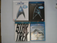 Star Trek Movies Blu Ray Box Sets Collection
