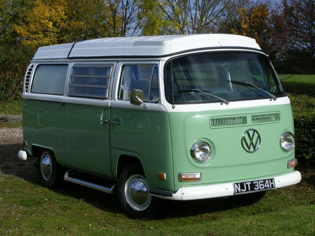 Vw Campervan 1970 Classic Early Bay T2 Usa Import Lhd