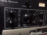 Universal audio LA610 mkII mk 2 pre-amp DI LA2A compressor eq channel strip