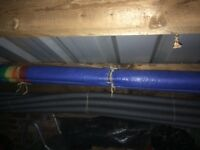 Bargain New Foam Insulation Pipe Lagging 16 x 6 Foot Pieces For Plumbing 20MM Inner