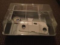 Medium plastic hamster cage