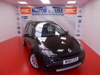 Renault Clio (DYNAMIQUE TOMTOM) FREE MOT'S AS LONG AS YOU OWN THE CAR!!! (black) 2010