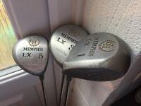 Set of 3 Golf Clubs