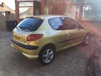 Peugeot 206 2004 reg for sale!! need it gone asap as not in use