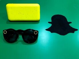 Snap Spectacles Camera Glasses For Snapchat - Black