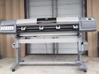 HP5000 DesignJet Large Format Printer - Sold For Parts