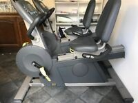 Pulse Fitness 250F Recumbent / Recline Exercise Bike (3 available ) - Gym