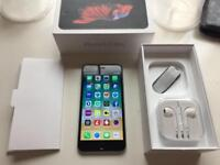 IPhone 6s Plus - unlocked- original box - new charger and headphones