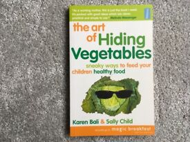 Book on The Art of Hiding Vegetables