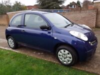 2005 NISSAN MICRA 1.2S ONE PREVIOUS OWNER FULL SERVICE HISTORY VERY GOOD CONDITION AND DRIVES WELL
