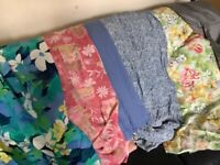 X6 dress size fabric remnants £5