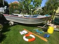 14ft aluminum fishing boat