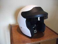Motor sport crash helmet, MSA approved.