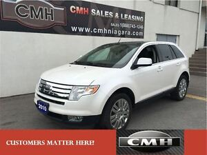 2010 Ford Edge Limited AWD ALLOYS LEATH ROOF *CERTIFIED*