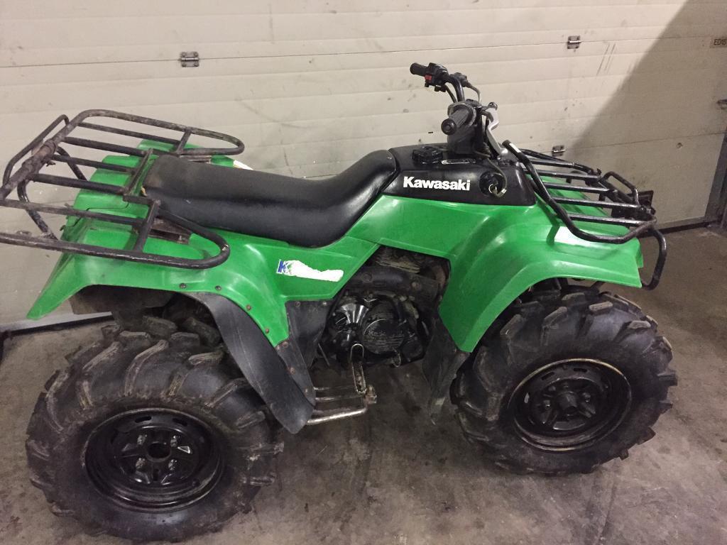 Kawasaki 220 Quad – Idée d'image de moto