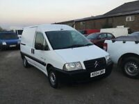 54 REG CITREON DISPATCH TWO SIDE LOADING DOIRS CLEAN GOOD DRIVING VAN READY FOR WORK ANYTRIAL WELCOM