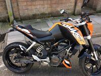 KTM Duke125 2012 New MOT