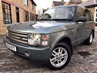 Land Rover Range Rover 3.0 Td6 Vogue 5dr p/x welcome ***6 MONTHS WARRANTY** 2003 (52 reg), SUV