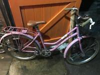 Bronx Country Ladies Town Bike. Serviced, Good condition. Free Lock, Lights & Delivery.