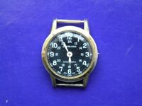 military watch with black face ( antmagnetic )