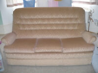 Parker Knoll 3 Seater Large Sofa with Wheels from John Lewis for sale. Very good condition.