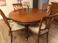 Arighi Bianci Dining Table (extendable) 6 chairs and sideboard