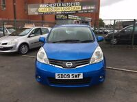 Nissan Note 1.6 16v Acenta 5dr,automatic, ONE FORMER KEEPER.2 KEYS,