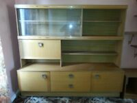 1970's Style Cabinet Sideboard & Drinks Cabinet All in One for Sale